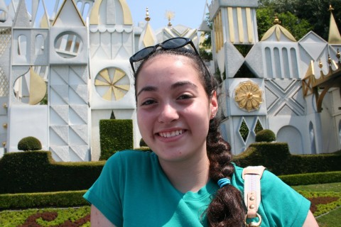 "Emily on ""It's a Small World."""