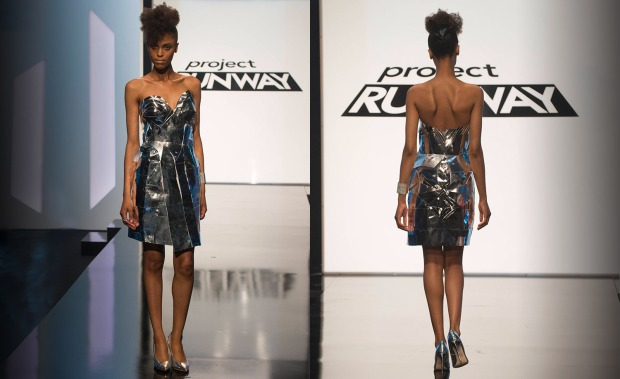 Candice - This was a nice, very cool super hero kind of dress.