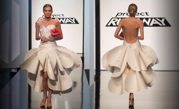Edmond - LOVE IT!  Making a wedding dress entirely out of cards - awesome!
